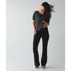 LULULEMON Black Reversible Groove Pants